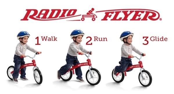 Radio Flyer Balance Bike With Air Tires North Road Auto 845 471